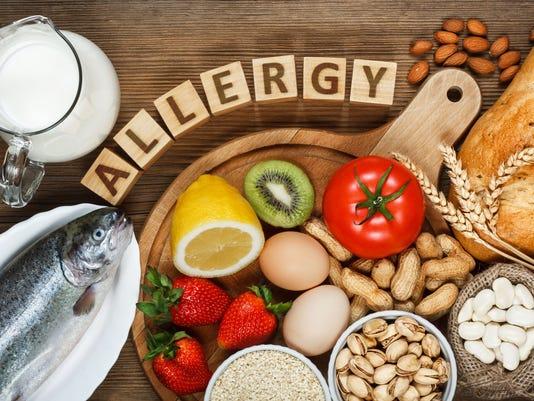 vaak voorkomend voedsel - allergieën